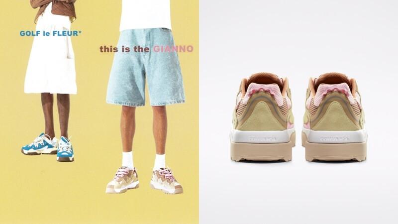 最夢幻的老爹鞋!Converse X GOLF le FLEUR* Gianno聯名系列換上淺粉色、天空藍馬卡龍配色