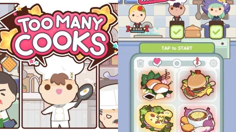 友情大考驗!《Too Many Cooks》手機版的《煮過頭》烹飪遊戲,考驗默契最多可6人連線