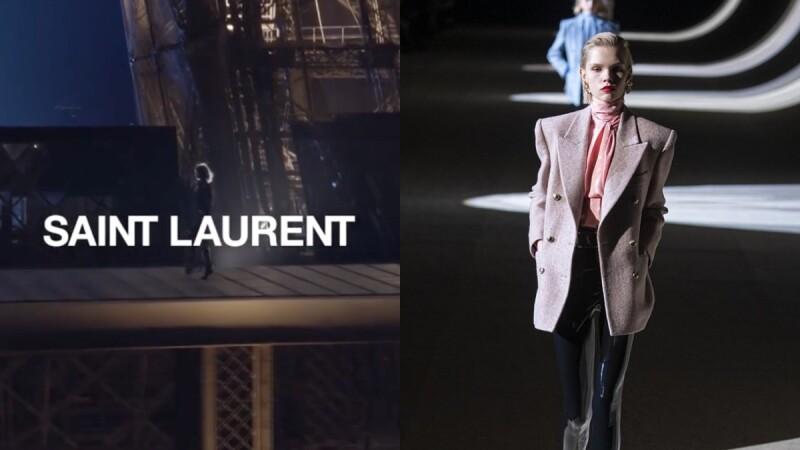 Saint Laurent退出巴黎時裝週!受疫情影響的重大決策