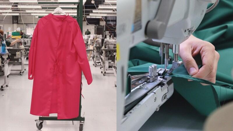Mulberry調整皮包生產線改做防護衣,愛心「義工」志願手縫,保護前線醫護!
