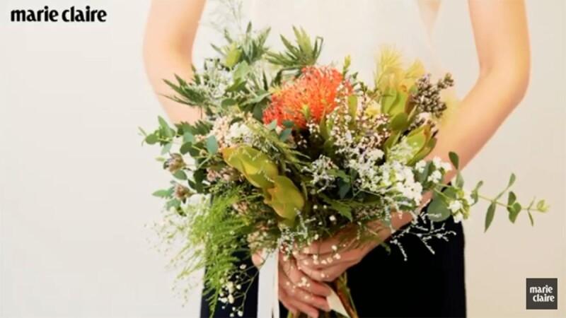 小資新娘的手作捧花提案,兩千塊搞定可保存的婚禮捧花