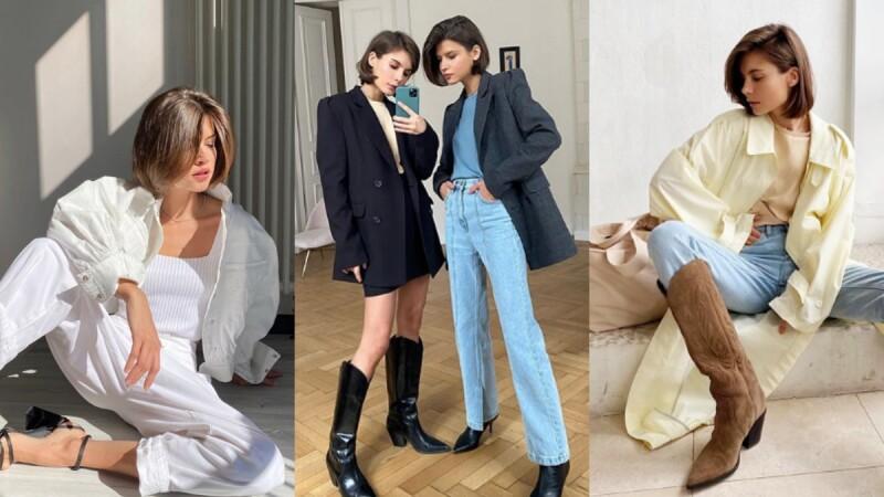 就由俄羅斯女孩的時尚指標Kristina和Polina,教你如何透過穿衣小訣竅穿出時髦極簡風!