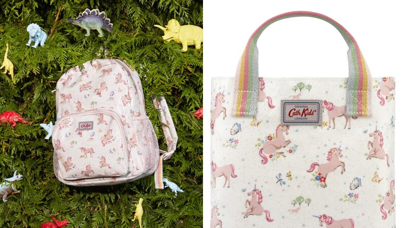 凱特王妃也愛的Cath Kidston夏日全新推出獨角獸印花系列,還有可愛青蛙旅行袋