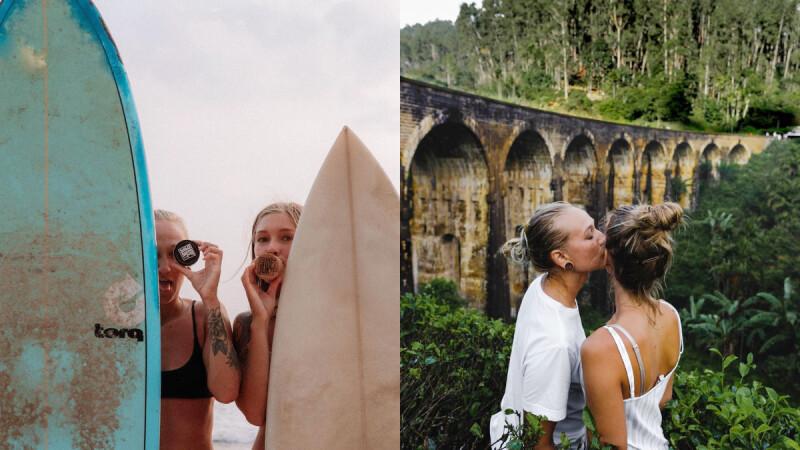 【愛x生活】Paula & Elin,北歐女孩上山下海的愛