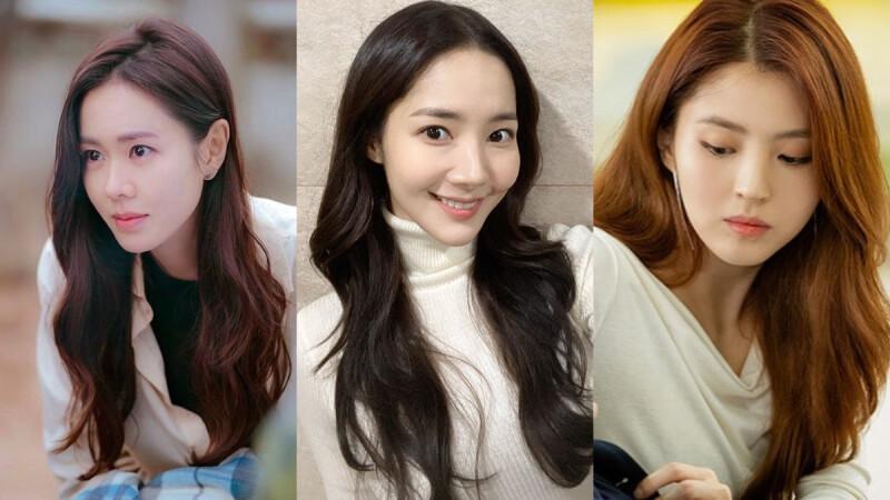 2020最火韓系髮型「微中分」,中分偏旁1公分女神力爆棚,孫藝珍、朴敏英都在留!