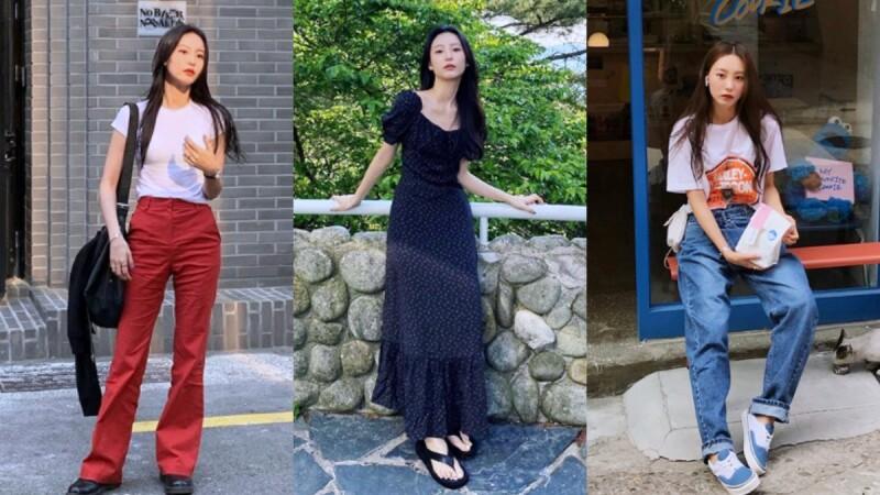 不僅外貌神似Krystal,穿搭實力也不輸本人!個性韓妞Seon-Hye Jung的穿搭範本大解析