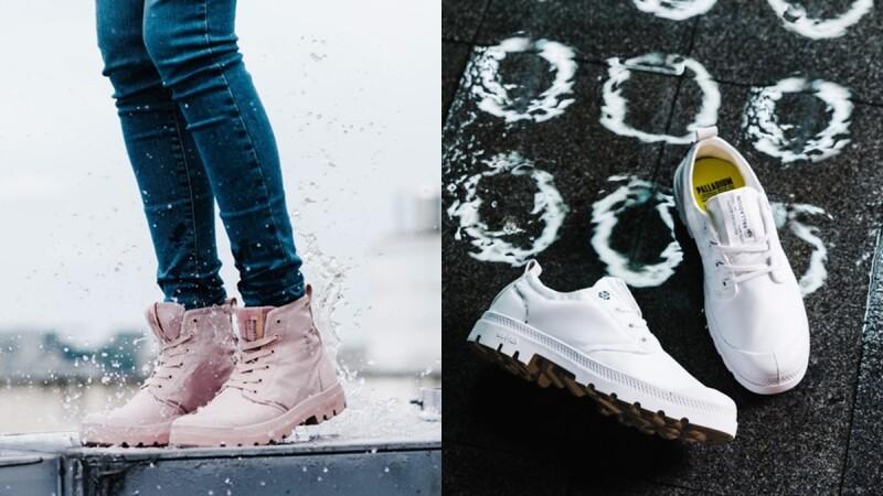Palladium 釋出隱藏版 #糖霜粉紅 防水軍靴!梅雨季前趕緊買起來準備好