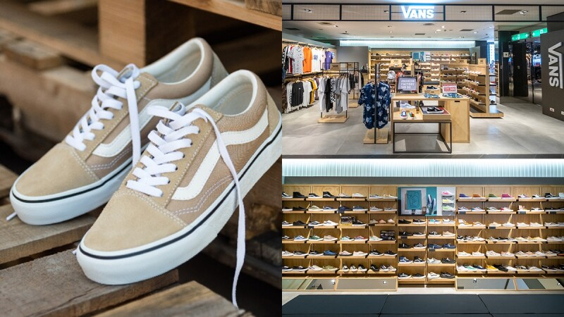 Vans全新概念店登陸北、中、南這三處!全新特色、獨賣奶茶色鞋款搶先帶你看