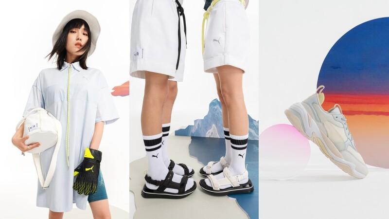 Puma找上維密超模劉雯打造聯名運動系列,老爹鞋、繫帶涼鞋、水桶包…必缺貨TOP5是這些