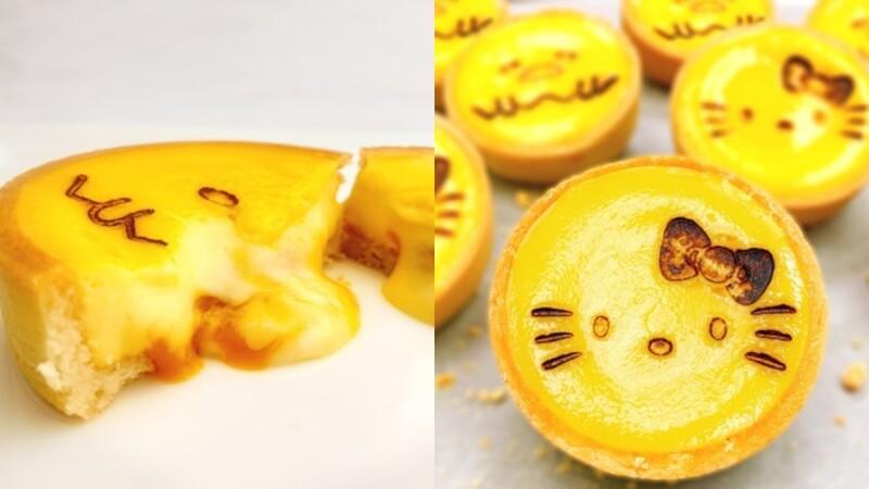 夏季限定!三麗鷗芒果起司塔來襲,超萌Kitty、蛋黃哥造型濃郁的芒果內餡療癒滿分