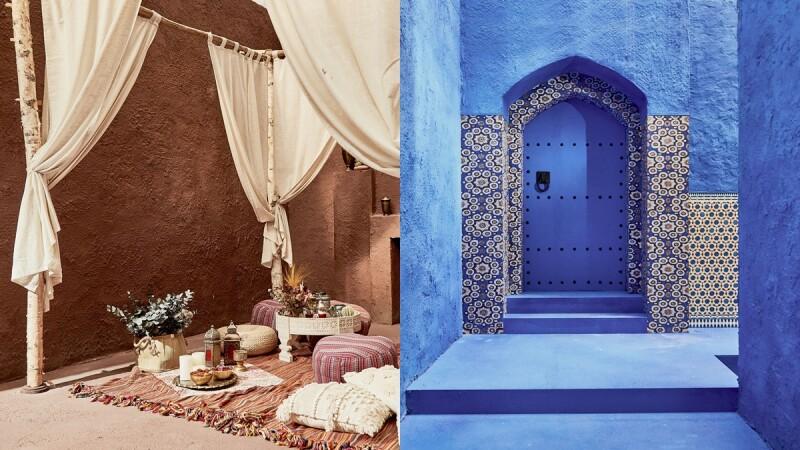 台灣也能看到摩洛哥藍色山城!Wave Shine打造奇幻藍色山城、撒哈拉沙漠奢華帳篷就在這個地方