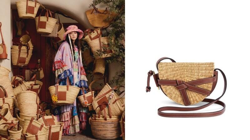 2020夏季必備草編包變時髦了!Loewe方籃造型、Prada手拿包,還有CELINE超大容量設計