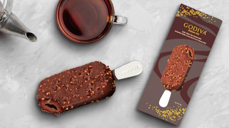7-11獨家開賣!GODIVA全新兩款「黑巧克力流心雪糕」登場,6/15正式上市