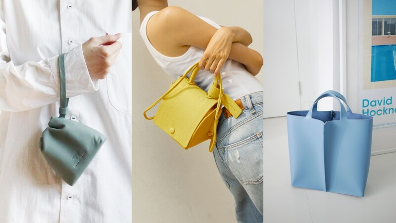 質感高貴價格卻不貴!盤點5間泰國包包品牌,酪梨綠、檸檬黃、冰滴藍、奶油白…全是春夏最亮點的繽紛色