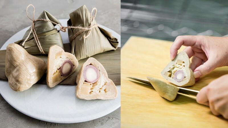 端午節送這顆「皂粽」不怕胖!阿原推出超有巧思的抹草皂粽子,還把桑菊花、燕麥、魚腥草變成滷蛋、肉絲等配料