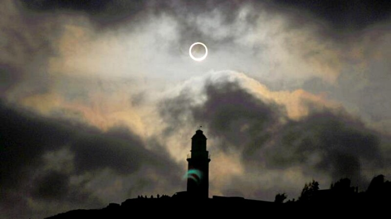 天文奇景「日環食」6/21再現台灣!宛如上帝掉落金戒指,各地觀測時間地點出爐,錯過得等下輩子