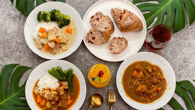 懶癌料理食譜!Café del SOL推3款懶人調理包,只要10分鐘就能吃到滿滿餡料的泰式綠咖哩