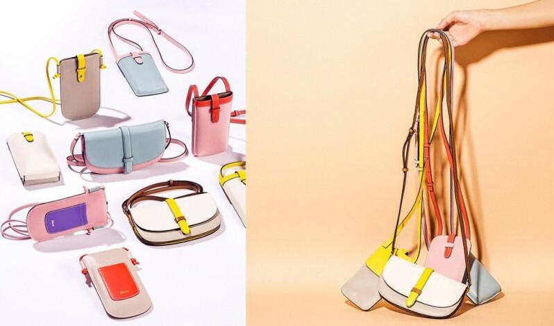 一揹就是夏天氣息,加州包包品牌D'eborah推出馬卡龍色系小包,親民售價超好入手!