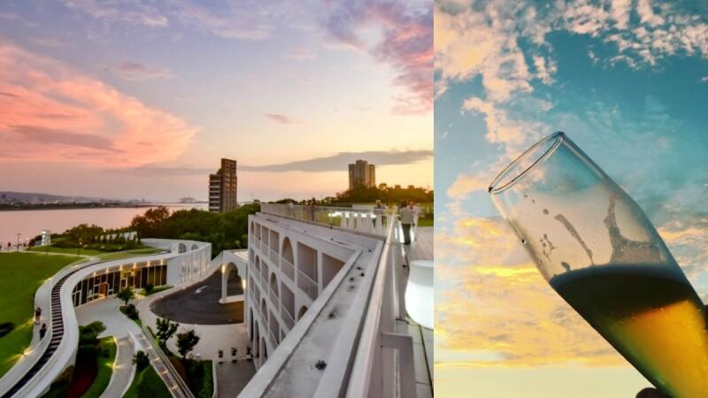 大人們的夏令營!淡水絕美飯店推出「精釀啤酒節」,270度高樓夕陽、草坡上愜意數星星,端午節搶先登場