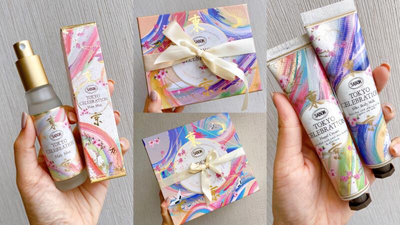 Sabon推出「髮香噴霧」了!聯名日本書道家万美打造超夢幻「東京和風」粉彩包裝!