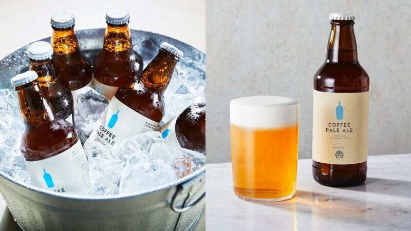 藍瓶咖啡變啤酒!日本Blue Bottle推愛爾淡啤酒,咖啡風味的冰涼啤酒,夏天最適合來一瓶