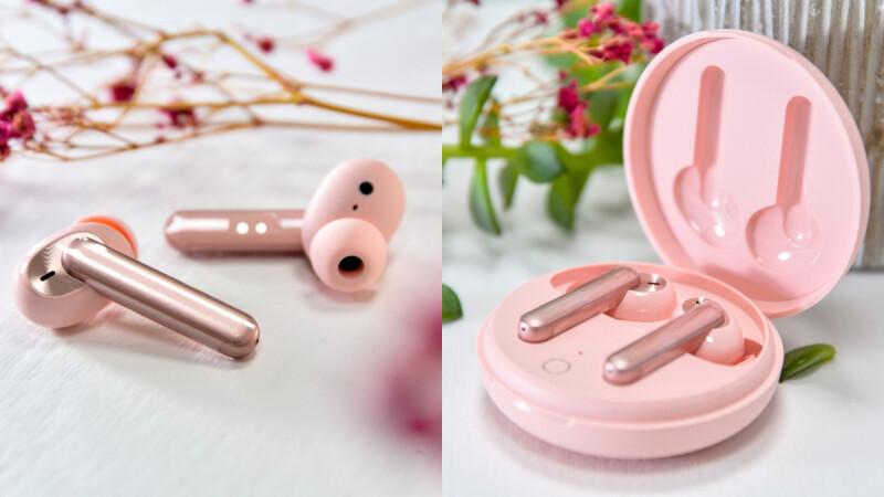 OPPO Enco W31真無線耳機推出新款粉色!粉餅般外殼少女心爆發,7/3正式上市