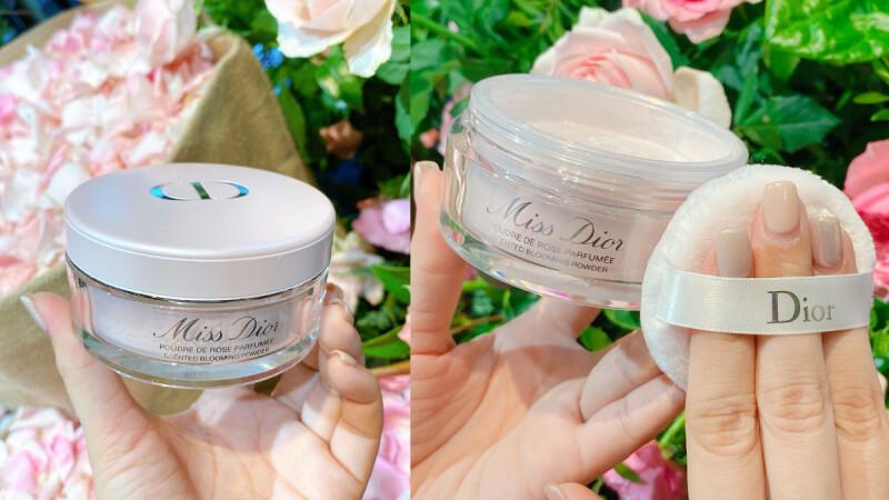 2020 DIOR推出粉紅珠光「香體蜜粉」為身體擦上Miss Dior浪漫香氣,大大嬌寵肌膚!