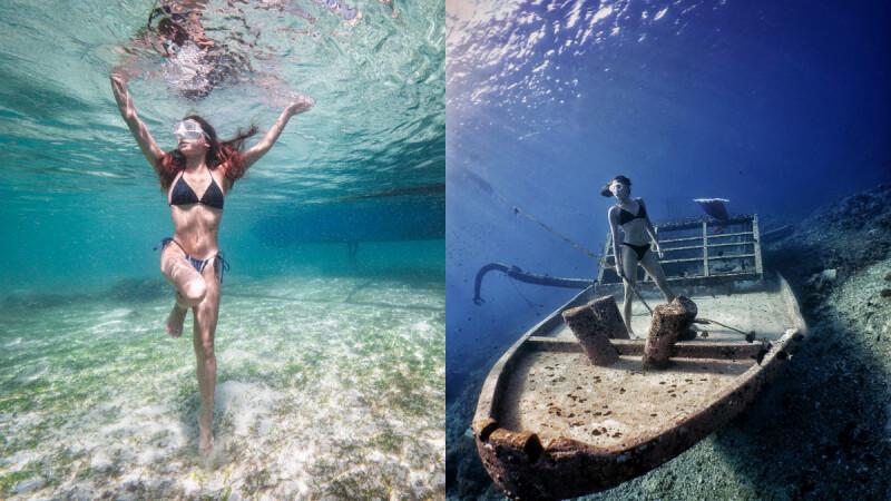 野女孩Lynnette:深不可測的大海 我用自由潛水來探索!