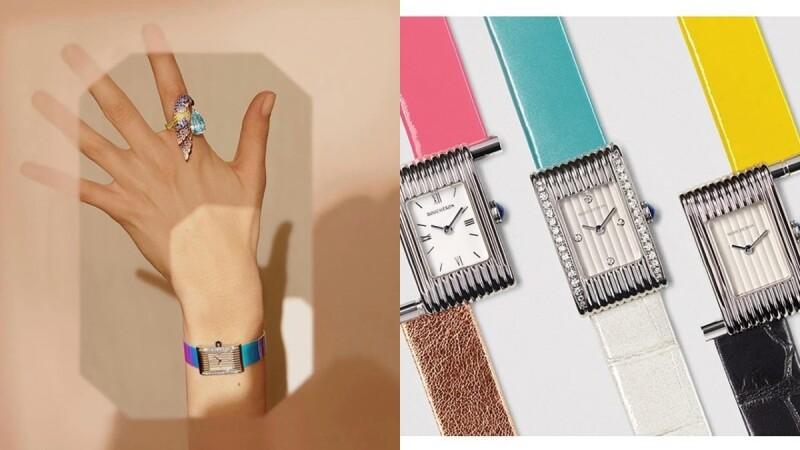 夏日彩色手錶推薦特輯!Tiffany、Hermès、Cartier…錶帶快拆功能,讓你每天都換新色!
