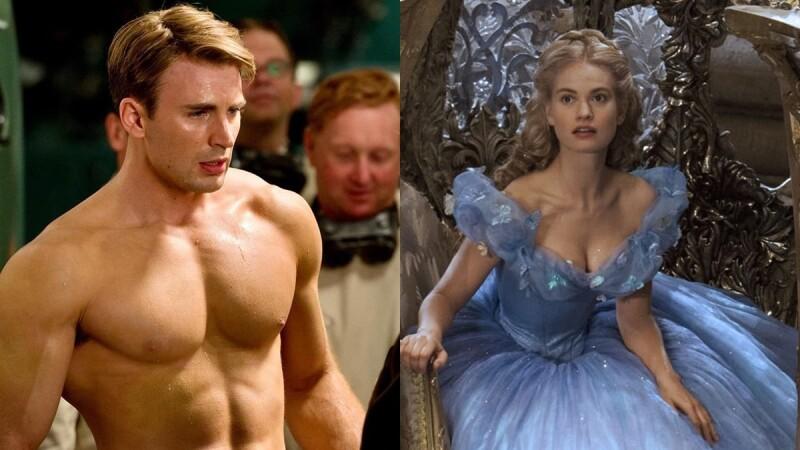「美國隊長」克里斯伊凡爆戀情!對象是《仙履奇緣》英國女星莉莉詹姆斯,高顏值情侶檔又一對?