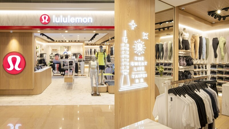 瑜珈迷必逛!lululemon全新開幕台北101概念店,獨家開賣施華洛世奇水晶瑜珈褲限量15件