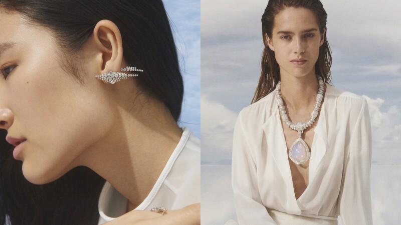 史上最仙!Boucheron全新頂級珠寶Contemplation系列,把雲朵、藍天、水滴落下的瞬間、結霜的蒲公英...全都收進67件作品中
