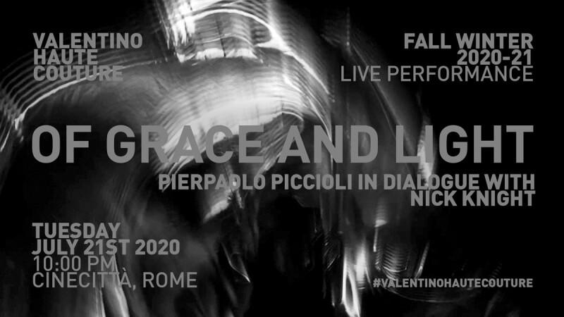 2020/21秋冬季高級訂製系列|Valentino時裝秀直播線上看!將在7/21晚上10點登場