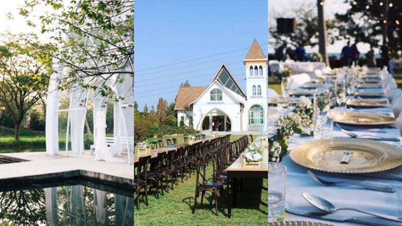 女孩們嚮往的美式戶外婚禮場地大公開!草原、海景、森林...總整台灣北中南東29家CP值選擇
