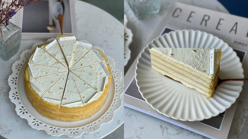 《時飴Approprié》推出新口味「榴槤千層蛋糕」!泰國金枕頭榴槤入餡,奶油白濃郁滋味挑戰味蕾