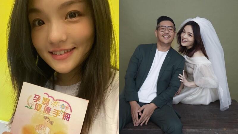 徐佳瑩懷孕了!宣布懷胎5個月:「現在我有兩顆心臟。」