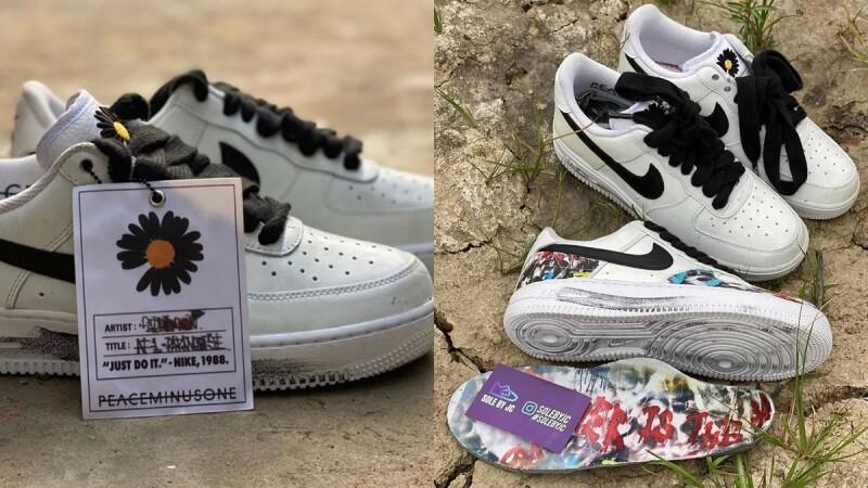 GD第二發聯名系列曝光!權志龍Peaceminusone再推出全白Nike Air Force 1,鞋款細節、開賣時間、售價搶先公開