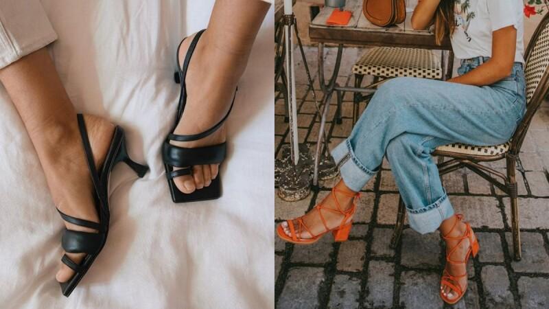2020年超過20款時髦大勢涼鞋推薦!平底、方頭、草編、貓跟、穆勒涼鞋….不只幫你降溫還能修飾腿型