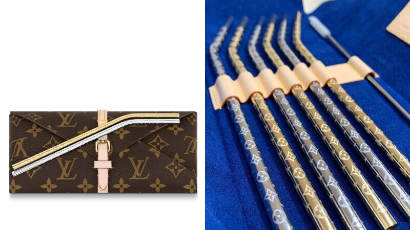 不只Dior、Tiffany!LV將推出Monogram老花吸管套組,台幣4萬元起跳