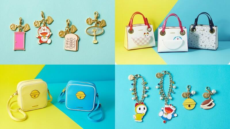 日本包包Samantha Vega推出哆啦A夢聯名系列!把百寶袋、鈴鐺變成包包,還有哆啦美粉嫩配色