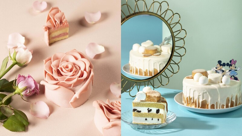 最美的擬真玫瑰!BAC推七夕限定粉紅凡爾賽、米奇米妮香草蛋糕,3款高顏值的人氣甜點登場
