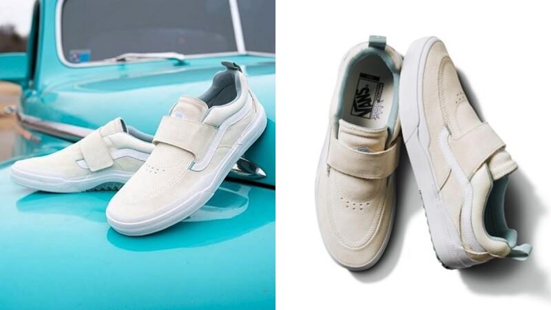 滑板入門必備!Vans再次聯手Kyle Walker推出聯名鞋款,奶油白搭上薄荷綠太夢幻