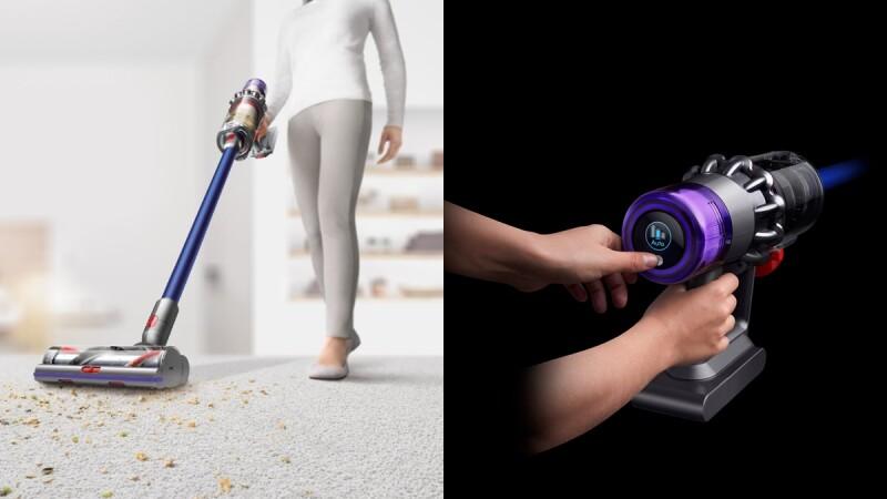 大掃除最佳幫手!Dyson全新無線吸塵器V11登場,新增「可換電池」設計,配上超強吸力,連續2小時徹底打掃家裡