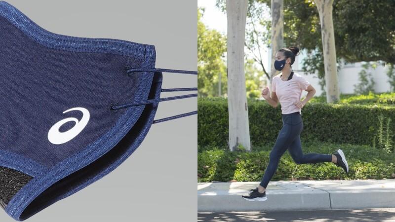 快乾、降熱又能確保呼吸順暢!Asics專為跑者研發跑步專用口罩,預計9月中上市