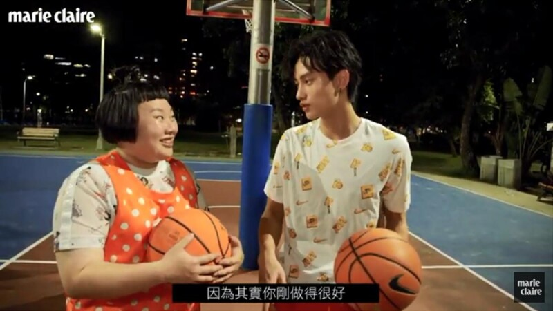 學長我想打籃球!范少勳傳授愛心秘技,小蘋果挑戰人生第一次上籃成功
