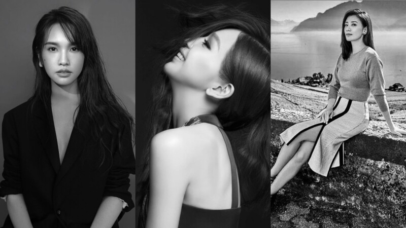 楊丞琳、王心凌、賈靜雯的IG紛紛出現黑白照!#ChallengeAccepted是什麼?身為女生的我們都應該知道