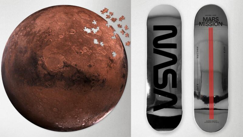 太空迷快下單!NASA推出1000片高清火星拼圖、酷炫銀色滑板8款宇宙風限量新品,全在Pinkoi買得到