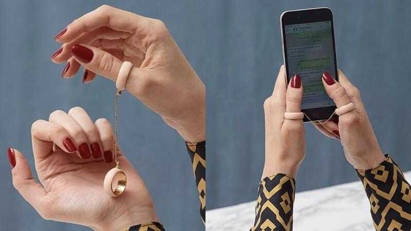 社群媒體焦慮有解?西班牙珠寶品牌Berta Sumpsi推出怪奇又時髦的「戒斷」戒指,你買單嗎?