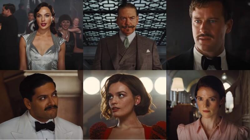 《尼羅河謀殺案》更黑暗情慾的推理兇殺案搬上大銀幕!大偵探「白羅」回歸,蓋兒加朵、艾米漢默同台飆戲