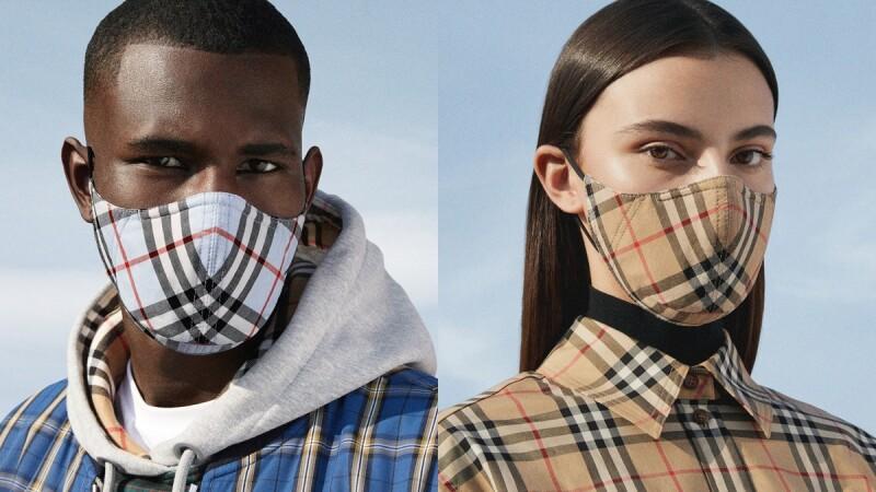 台灣也買得到!Burberry推出抗菌、可重複使用的經典格紋口罩,更附贈抗菌旅行包
